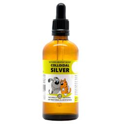 NGS Colloidal Silver for Pets 100ml Dropper Bottle with Pipette 20ppm