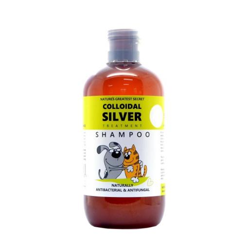 NGS Colloidal Silver for Pets - Antibacterial SHAMPOO - 250mls