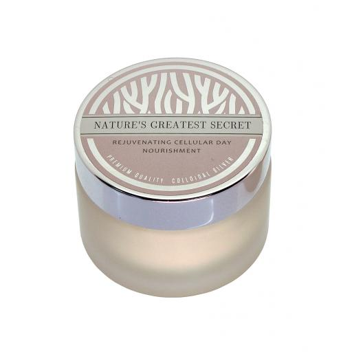 Rejuvenating Antiaging Day Nourishment Cream with Premium Quality Colloidal Silver 50g