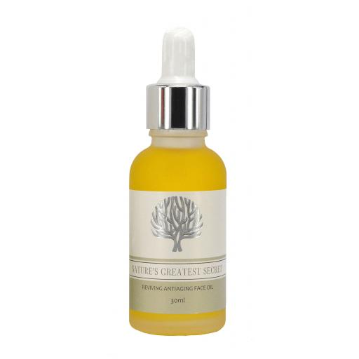 Reviving Face Oil with Antiaging Essential Oils and Botanicals 30ml