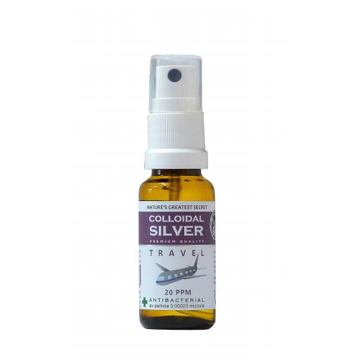 NGS 20ppm Enhanced Colloidal Silver - 20ml Travel Spray