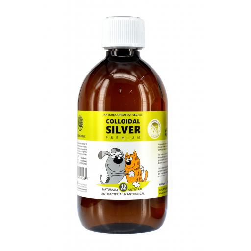 NGS Colloidal Silver for Pets 500ml Solution 10ppm