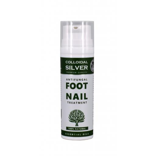 All Natural Antibacterial Fungal Foot and Nail Treatment 50g Pump
