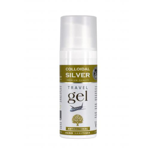 NGS Colloidal Silvergel Soothing Balm Travel Pump and Hand Sanitiser 50ml