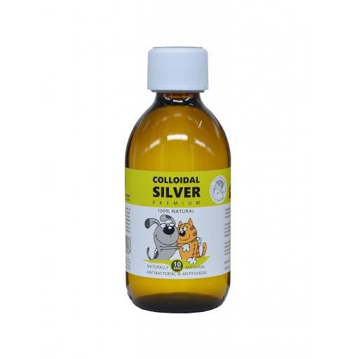 NGS Colloidal Silver for Pets 250ml Solution 10ppm
